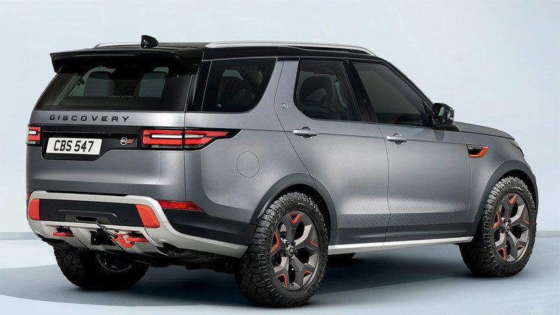 Land Rover Discovery SVX 2018. Imágenes Range rover