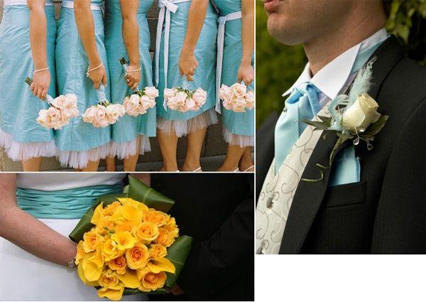 Wedding Inspiration For Aqua Blue C