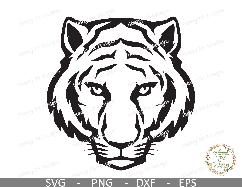 Tiger Svg Tiger Face Svg Tiger Shirt Tiger Clipart Tiger Etsy In 2021 Tiger Face Tiger Art Crows Drawing