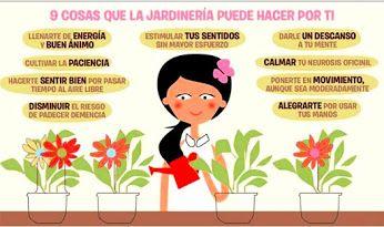 9 cosas que la jardinería puede hacer por ti <3