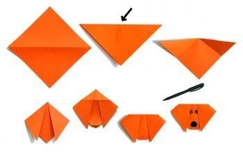 paper folding step by step for kids. Black Bedroom Furniture Sets. Home Design Ideas