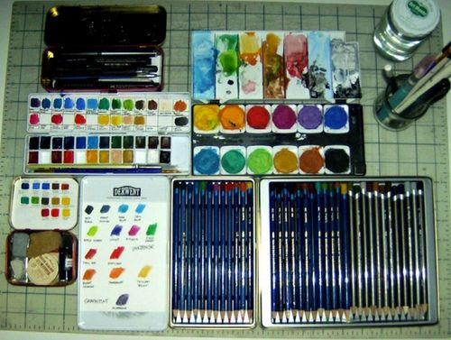 Watercolor Supplies Watercolor Supplies Artistic Space