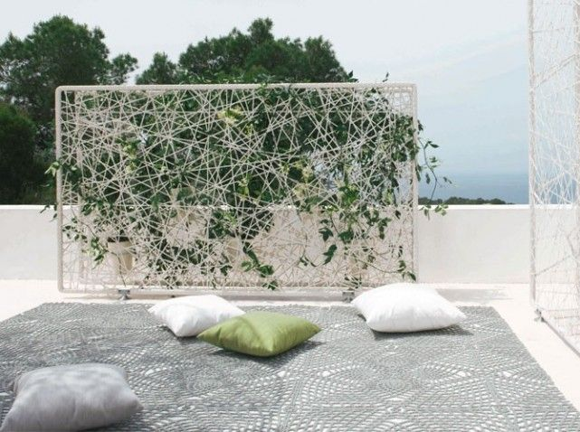 pare vue et brise vent prot gent le jardin pinterest supports pour plantes support et plantes. Black Bedroom Furniture Sets. Home Design Ideas