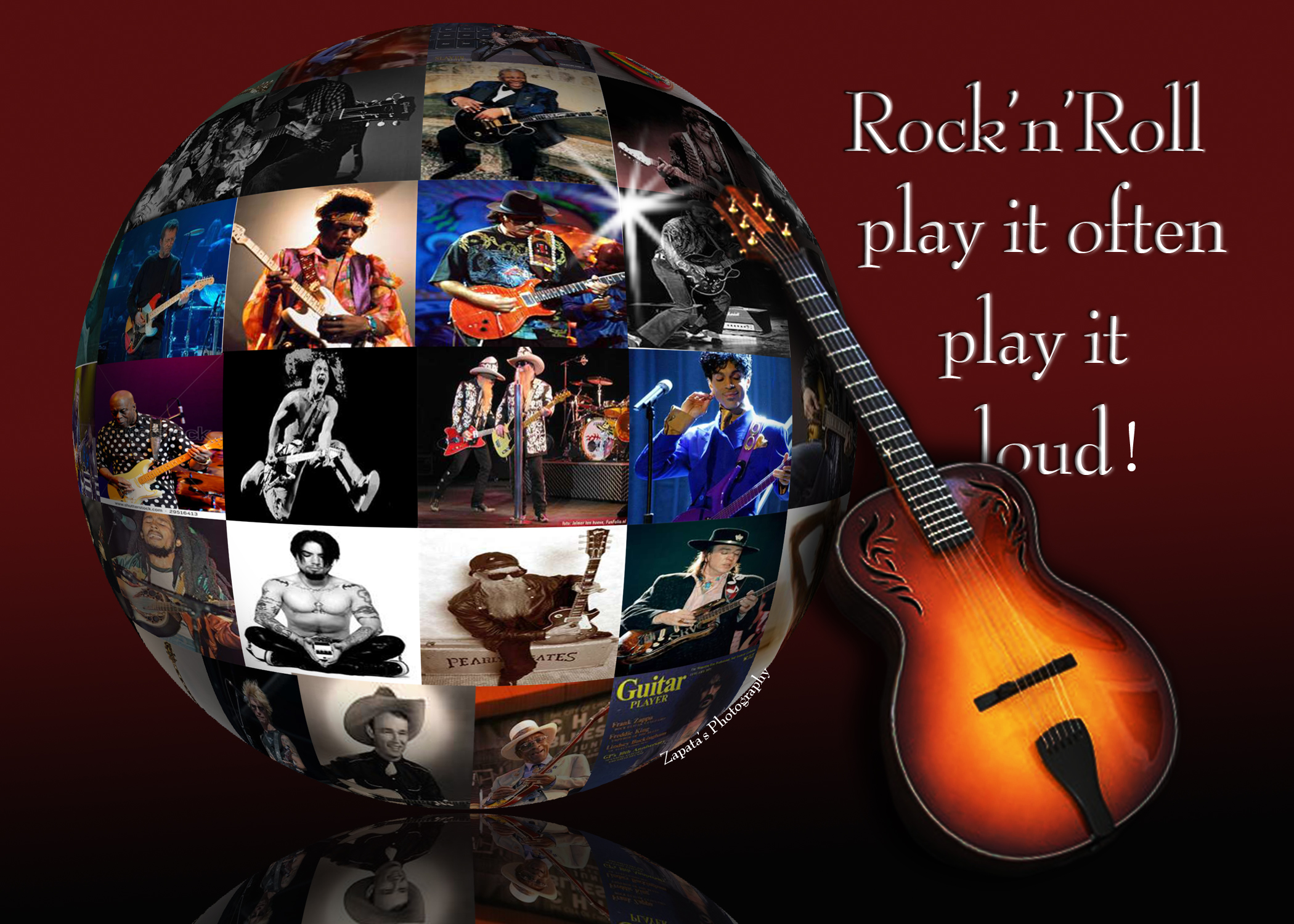 Rock And Roll 3d Wallpaper Rock N Roll Roll Play Rock And Roll