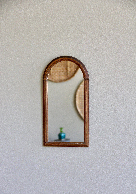 Arched mirror arch mirror antique arched mirror vintage arched