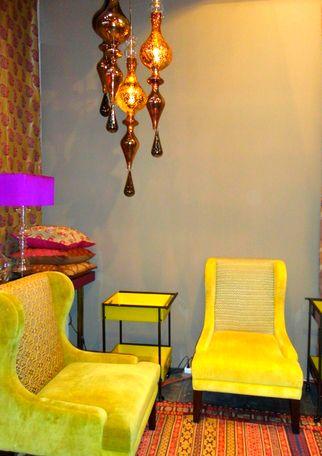 sillón tapizado color elegante comodo