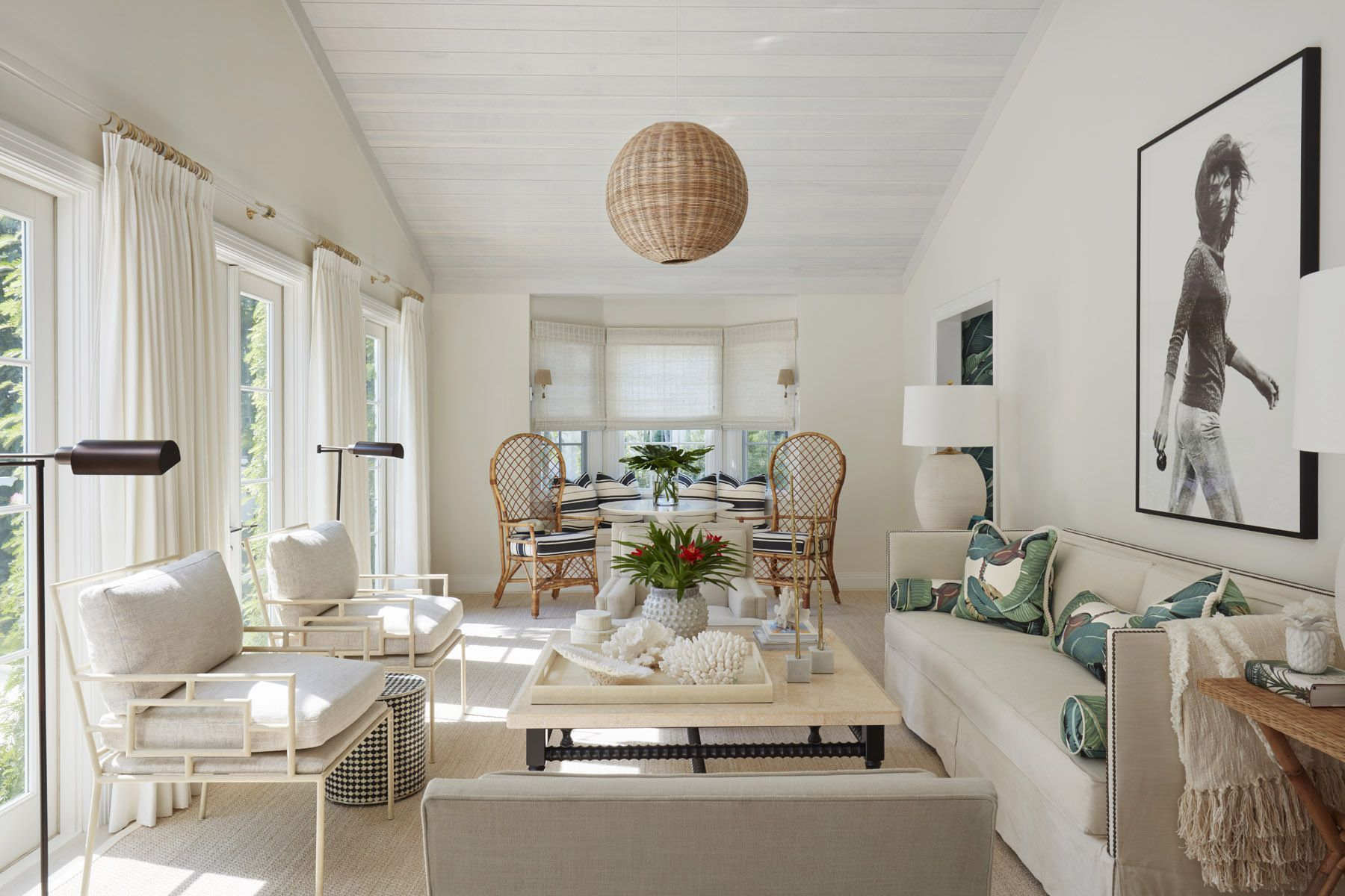 Palm Beach | Lindsey Lane Design | Living and Family Rooms ...