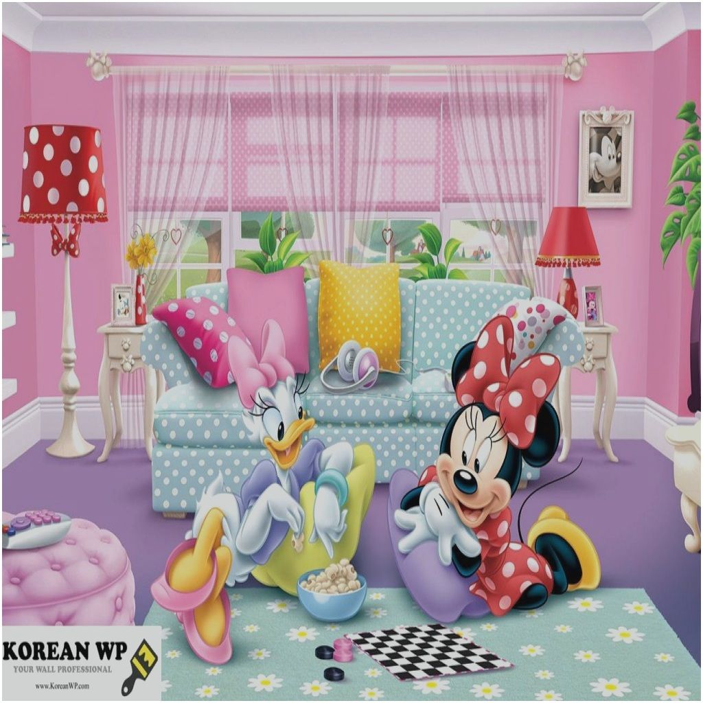 2 tlg Kinderbettwäsche 100x135 40x60 mit Minnie Mouse