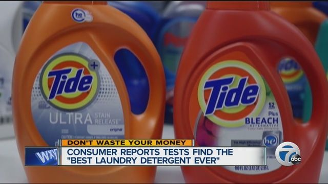 Consumer Reports Tests Dozens Of Laundry Detergents And Names