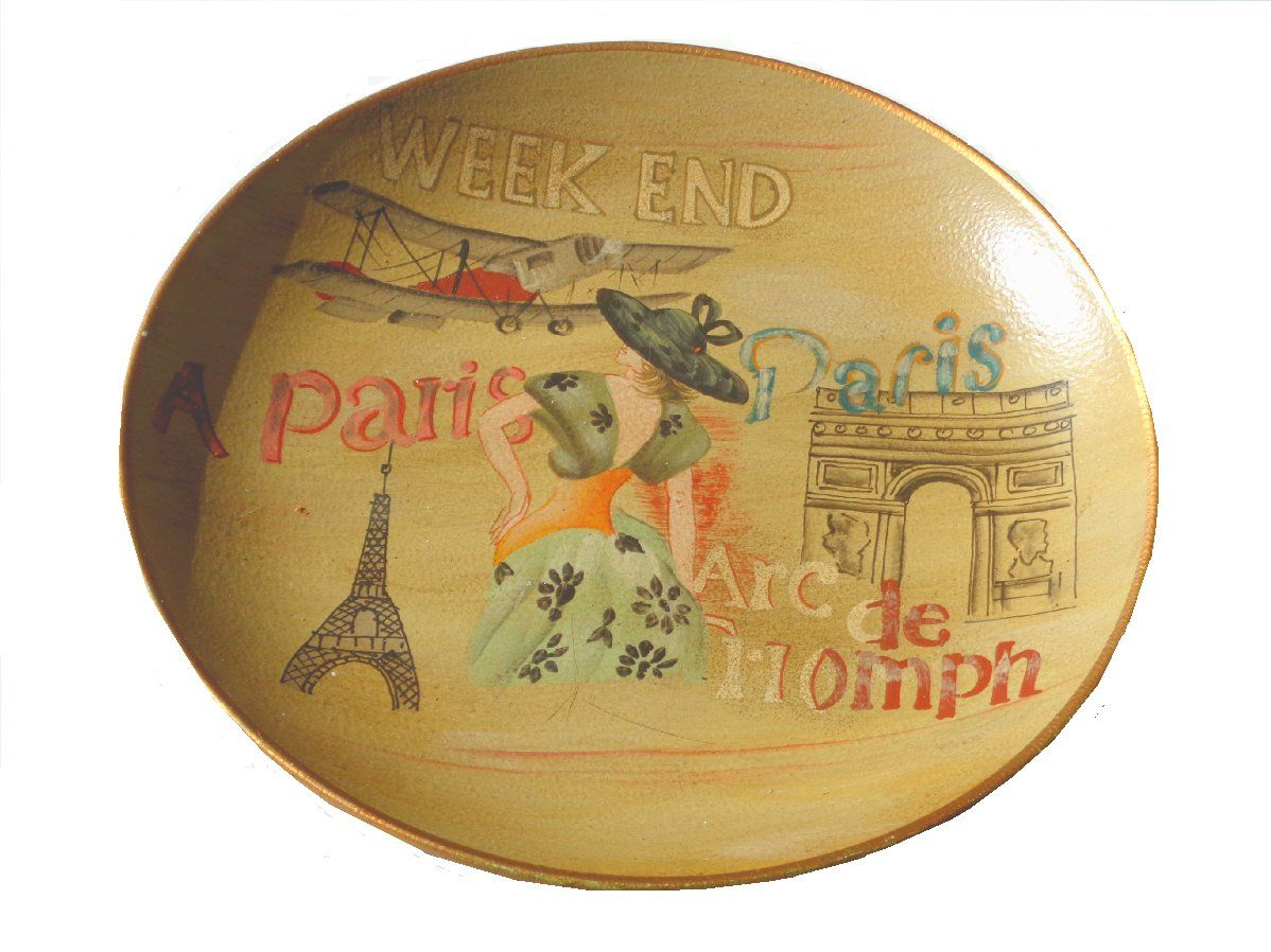 Eiffel Tower Paris French Decorative Plate | OooohLaLa French Home ...