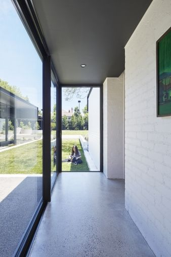 The floor to ceiling glass windows are certainly a departure from the  Edwardian alternatives in the