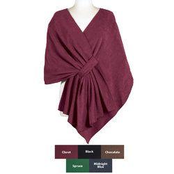 Fleece Shawl | Fleece Wraps for Women | The Paragon
