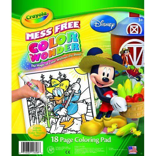 Crayola Color Wonder Disney Preschool Coloring Pad | Kid Stuff ...