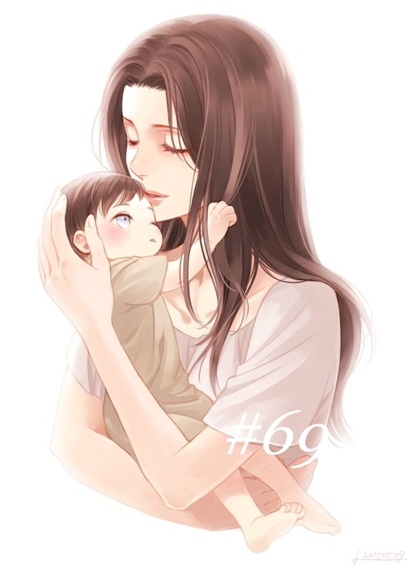 Eren And His Mother What I M Not Crying Sniff Sniff Not Crying