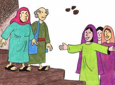 Hechos 9:36-42     Pedro seguía predicando y haciendo milagros, tal y como lo hacía Jesús. Un día llegó a predicar y a visitar a los nuevos...