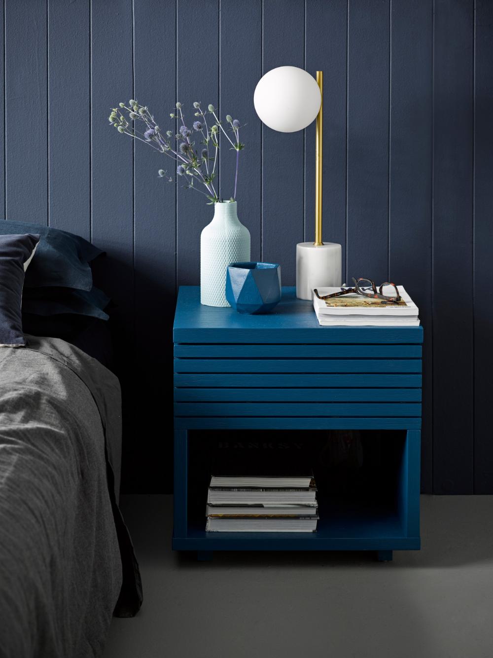 Indian Ink Panelled Bedroom Modern Bedroom Auckland