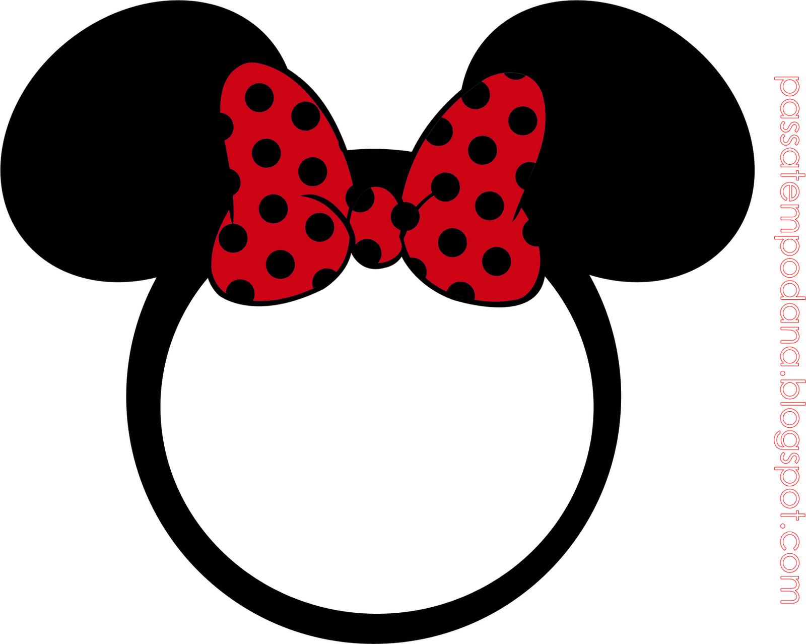 Minnie con Lunares en Rojo: Invitaciones y Etiquetas para Candy Bar ...