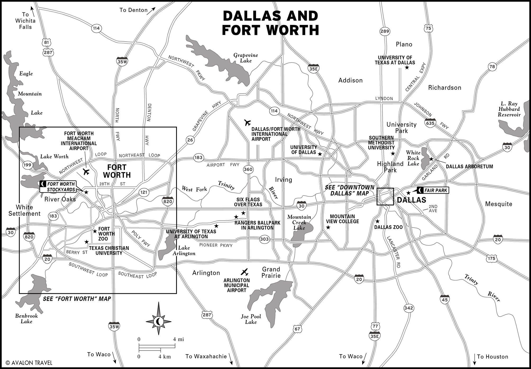 Printable Travel Maps of the Southwest Texas Travel maps Texas
