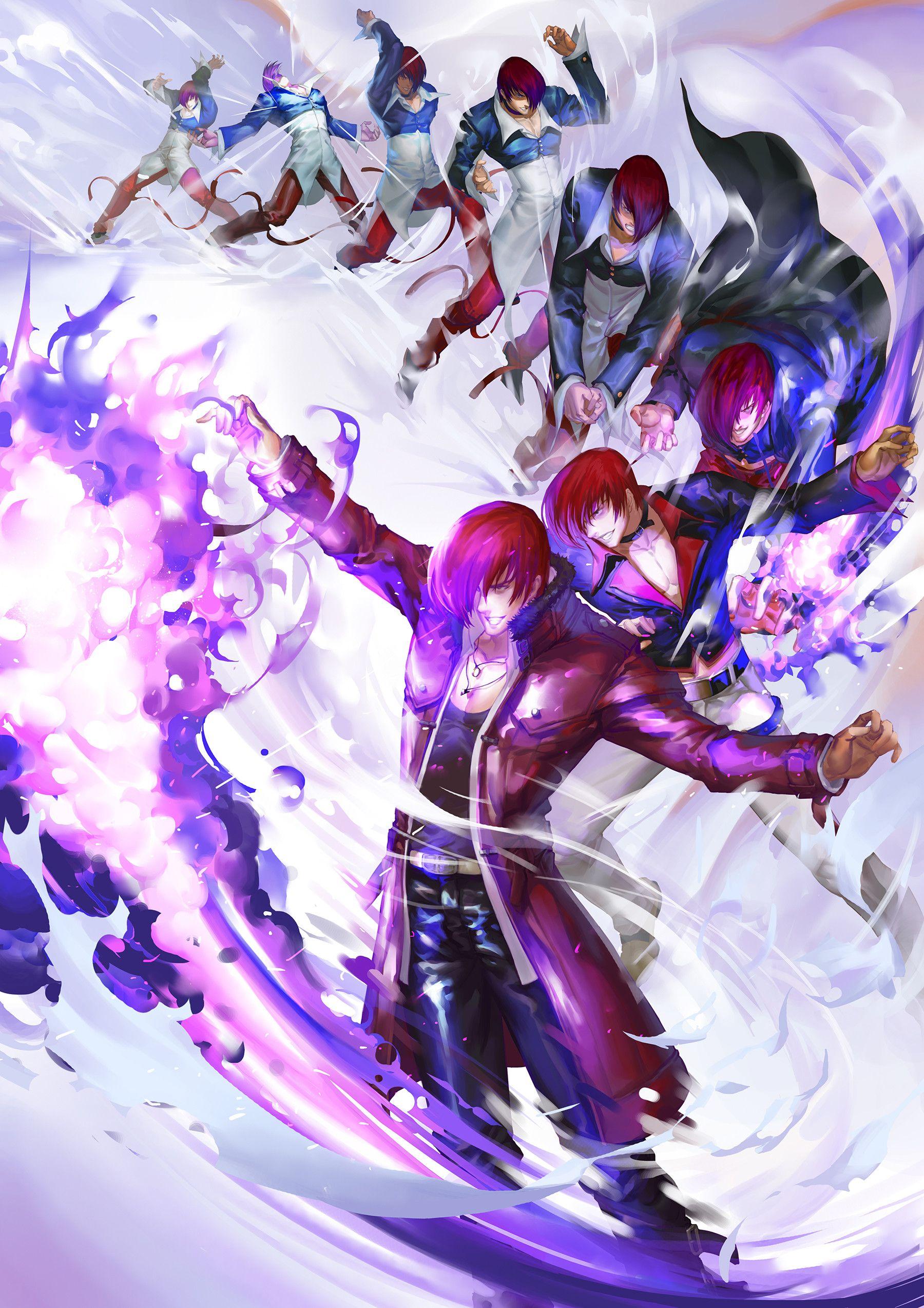 Artstation iori zheng huang personagens de anime