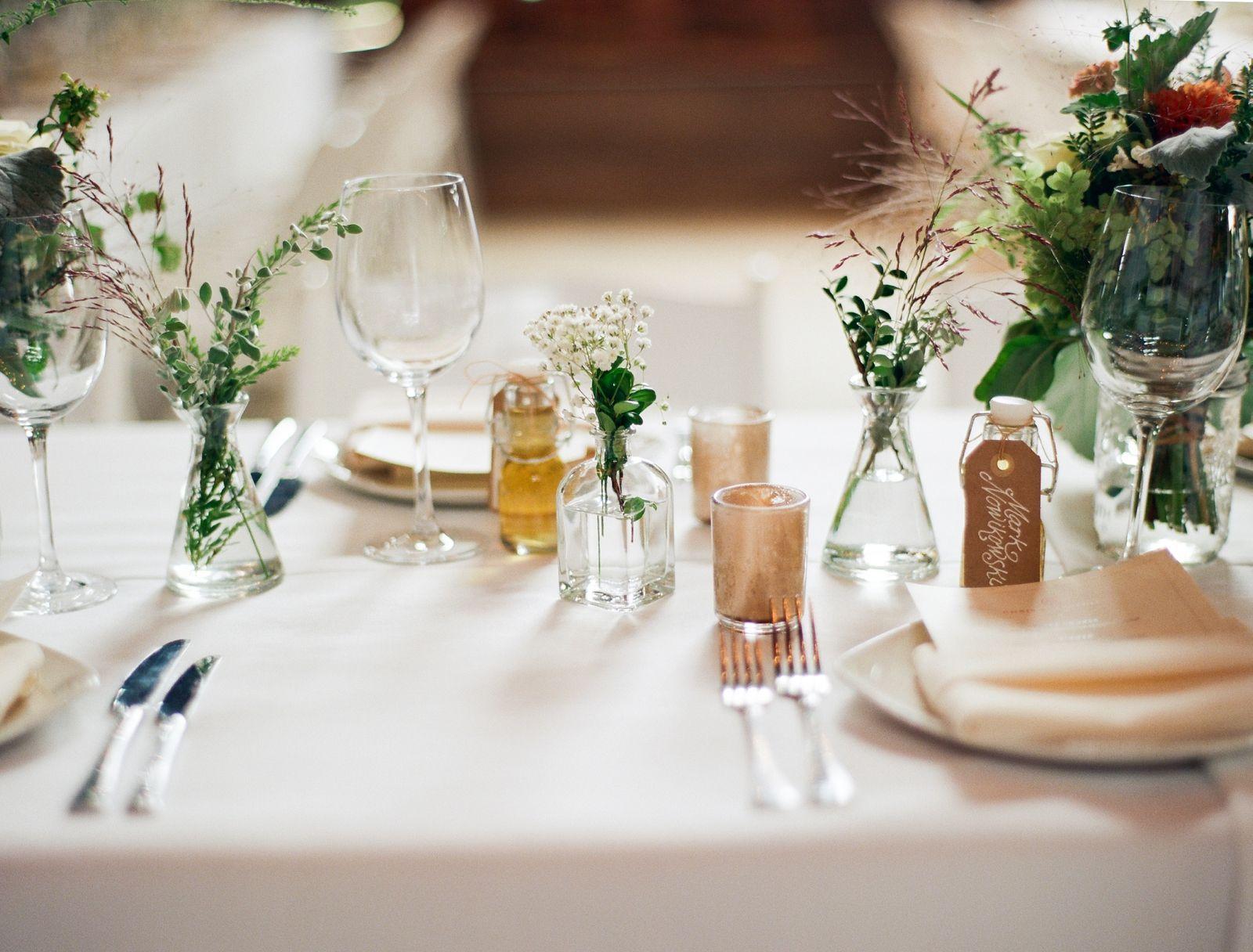 Modern wedding decor images  North Meets South Panorama Farms Wedding  Wedding Decor Inspiration