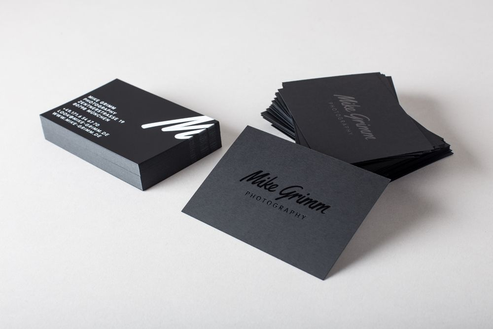 Mike Grimm Photography Corporate Design Branding