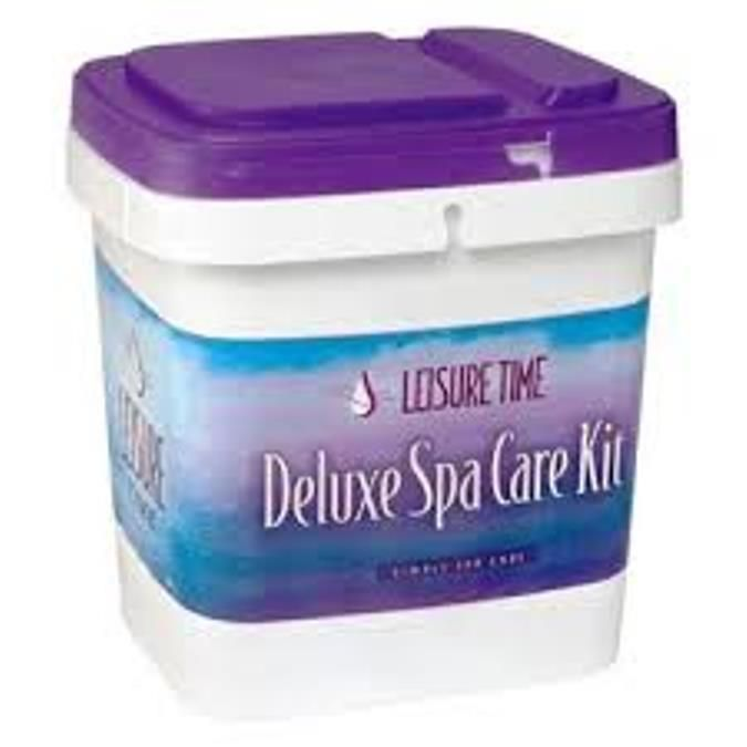 Leisure Time BROMINE Deluxe Spa Kit with DVD  LT45105 #LeisureTime
