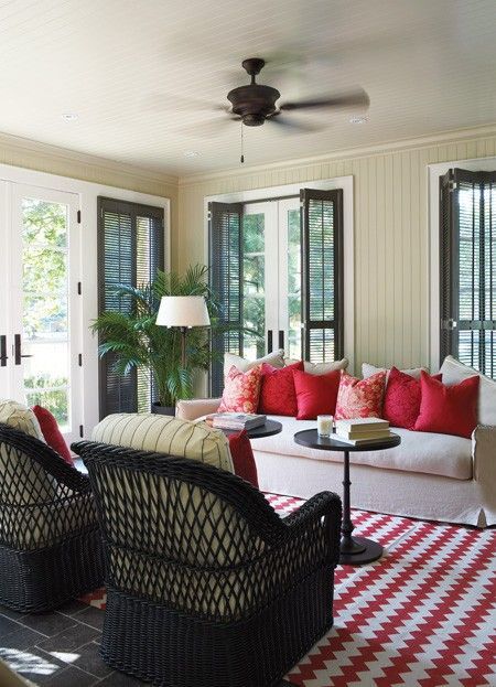 Bright & Cosy Sunroom | Photo Gallery: Beautiful Sunrooms | House & Home | photo Michael Graydon