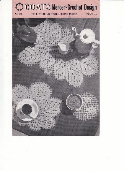 Chestnut Luncheon Mats No658 - diamondinapril - Picasa Web Albums