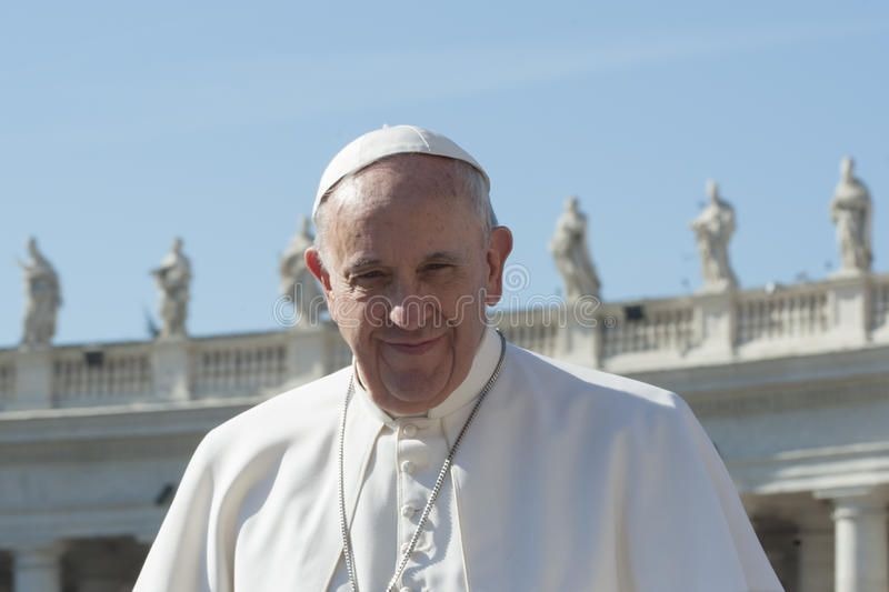 Pope Francis Vatican City Vatican City State April 20 2015 Pope Francis Gr Aff City State April City Pope Pope Francis Poses For Photos Pope