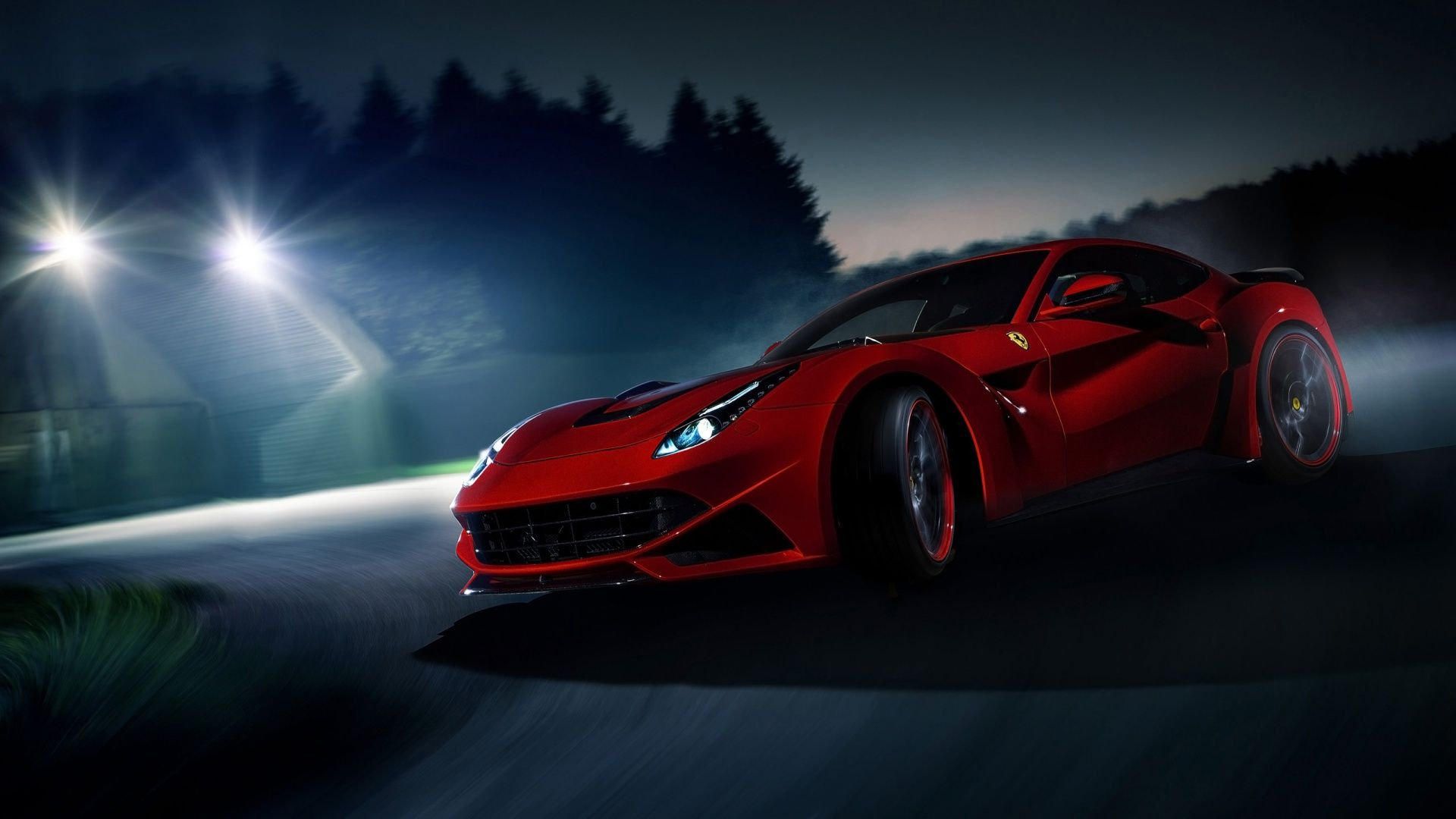 Image For 2014 Novitec Rosso Ferrari Berlinetta N Largo Car Hd Wallpaper