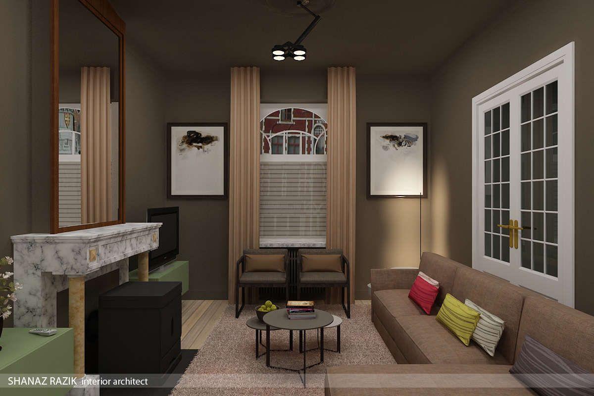 Moderne en kleurrijke interieur van een herenhuis | Kleuradvies voor ...