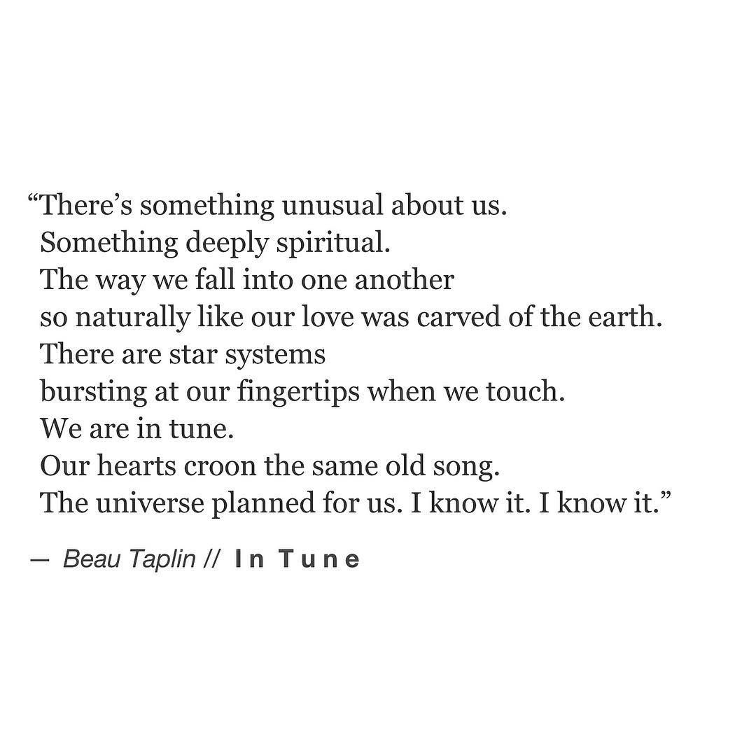 IN TUNE // an excerpt from my brand new book Buried Light is