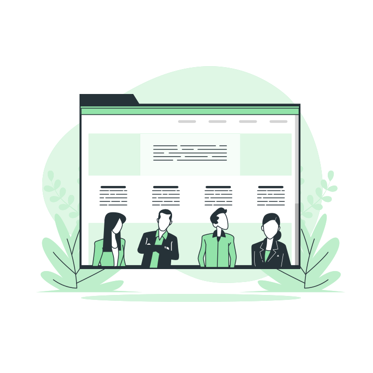 About Us Page By Freepik Stories Svg Png Illustration Business Marketing Information Or Vector Art Illustration Graphics Illustration Ecommerce Marketing
