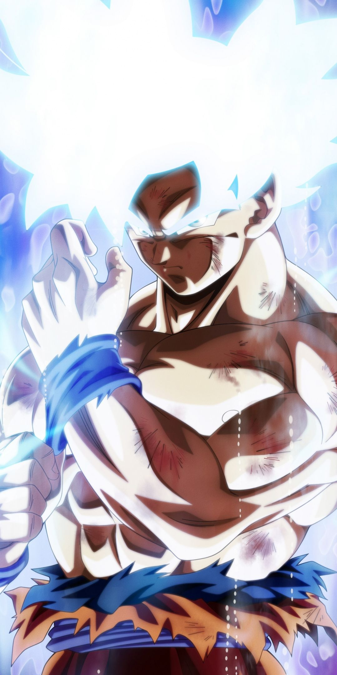 Download 1080x2160 Wallpaper Glow Goku Dragon Ball Super Anime Art Honor 7x H Dragon Ball Super Wallpapers Dragon Ball Wallpapers Anime Dragon Ball Super