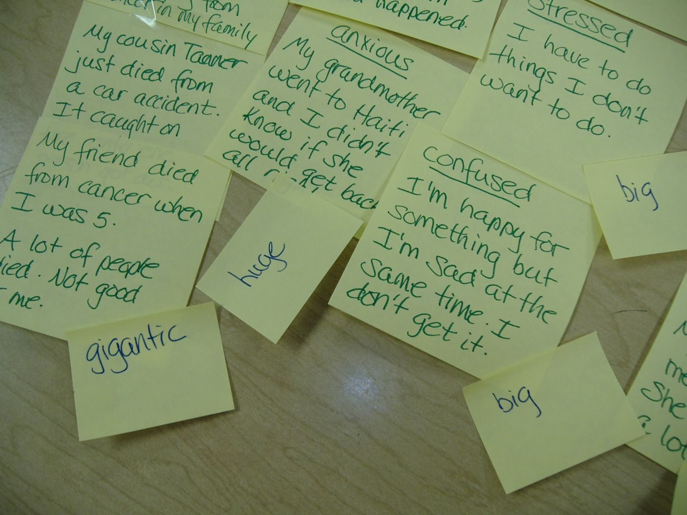 Post It Note Counseling With Images