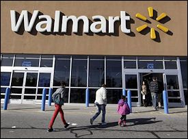 Wal-Mart has this idea to get the customers to deliver packages to other customers. Does this sound too far-fetched? Well, we're finding out more about it.