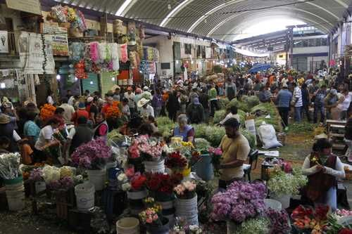 """""""Mercado de Jamaica"""" Mexico City"""