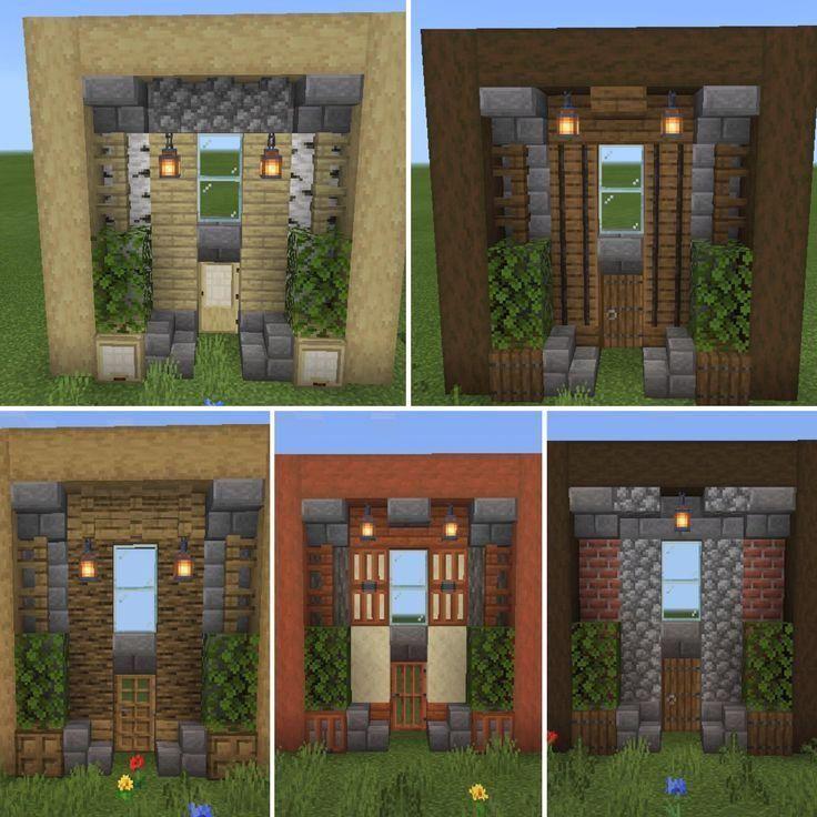 Maisons Minecraft Blog 2020