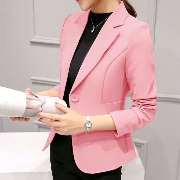 8b5643c36f77a High Quality New Womens Casual Fashion Slim Fit Business Basic ...