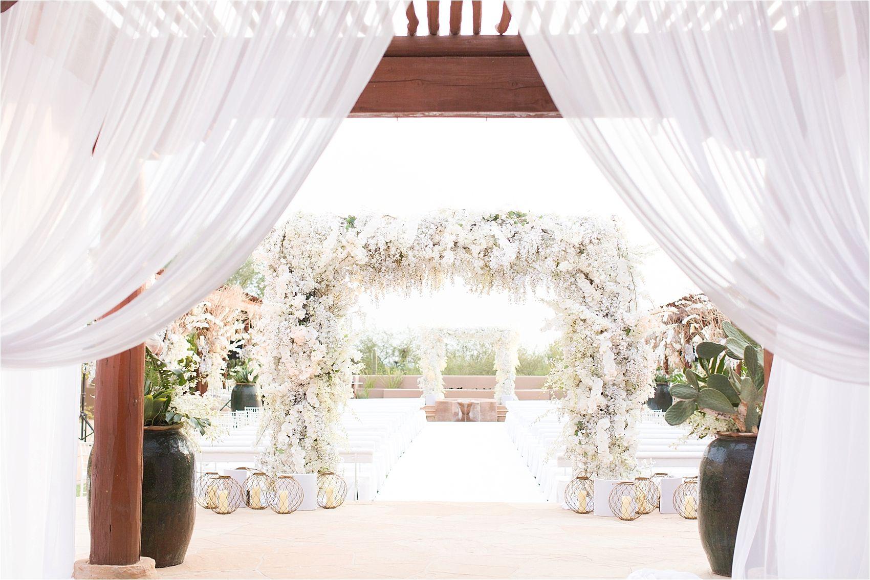 Four seasons troon north scottsdale wedding wedding