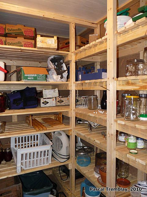 Shelving cold room - Home Storage Ideas - Build a Cold Room - Cold Room  Design