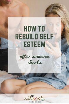 how to rebuild self esteem