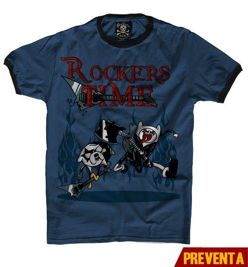 """Playera Rockers Time ""  Vatos  disponible en www.kingmonster.com.mx"
