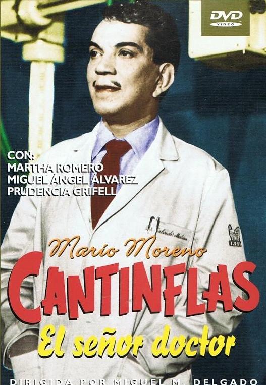 Cantinflas En El Señor Doctor Dvd Dvd De Ocasión Dirigida Por Miguel M Delgado Fernando Galiana Carlos León Intérpret Cantinflas Señora Doctor Peliculas