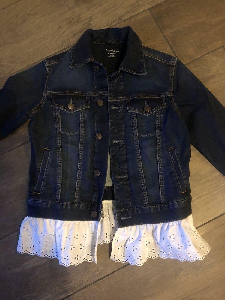 bf44756da Girls Gap Jean Jacket With Lace Size M (8/10) Brand New #fashion #clothing  #shoes #accessories #kidsclothingshoesaccs #girlsclothingsizes4up (ebay  link)