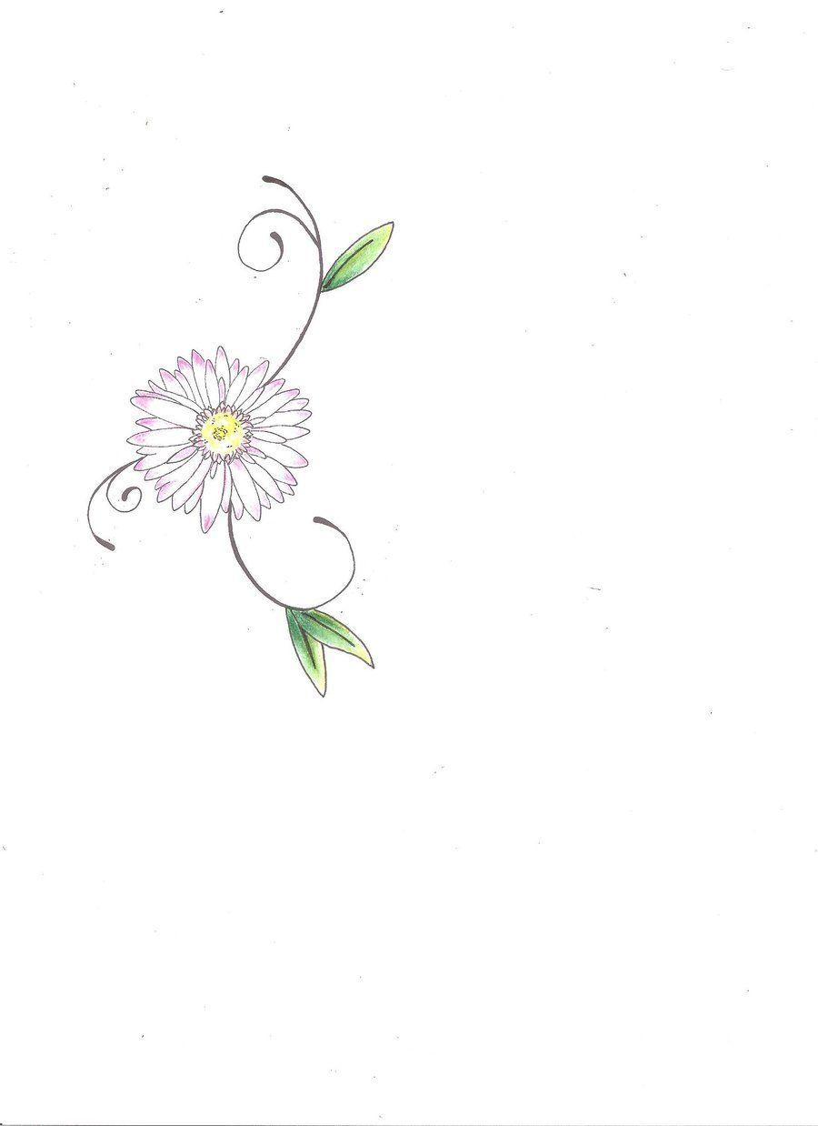 Daisy tattoo by inkkoiviantart on deviantart tat