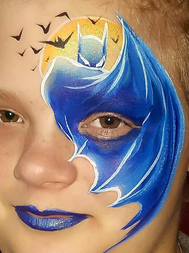Cool Face Painting Ideas Superhero Face Painting Face Painting