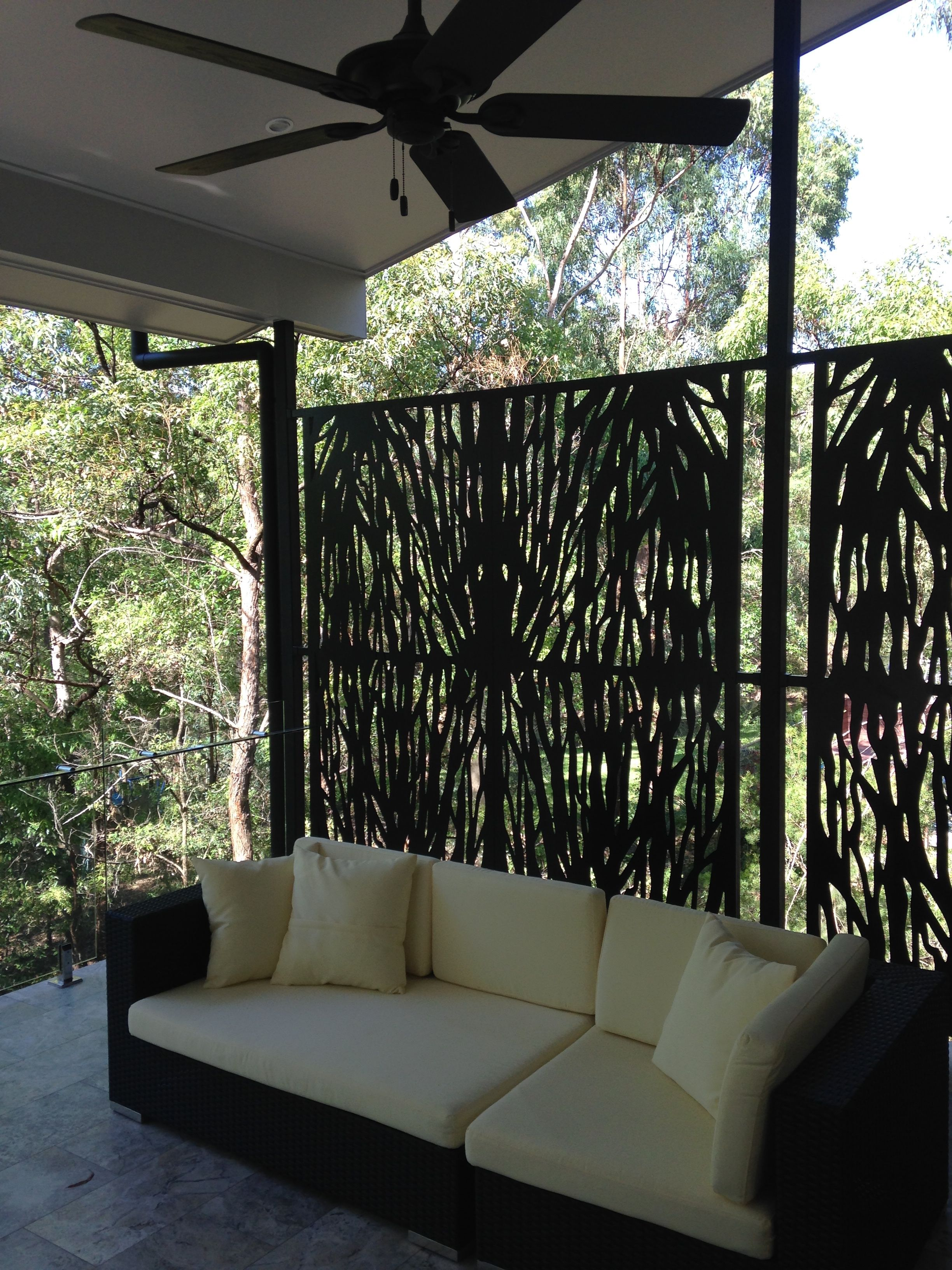 metal balcony screens Outdoor decor, Outdoor sectional