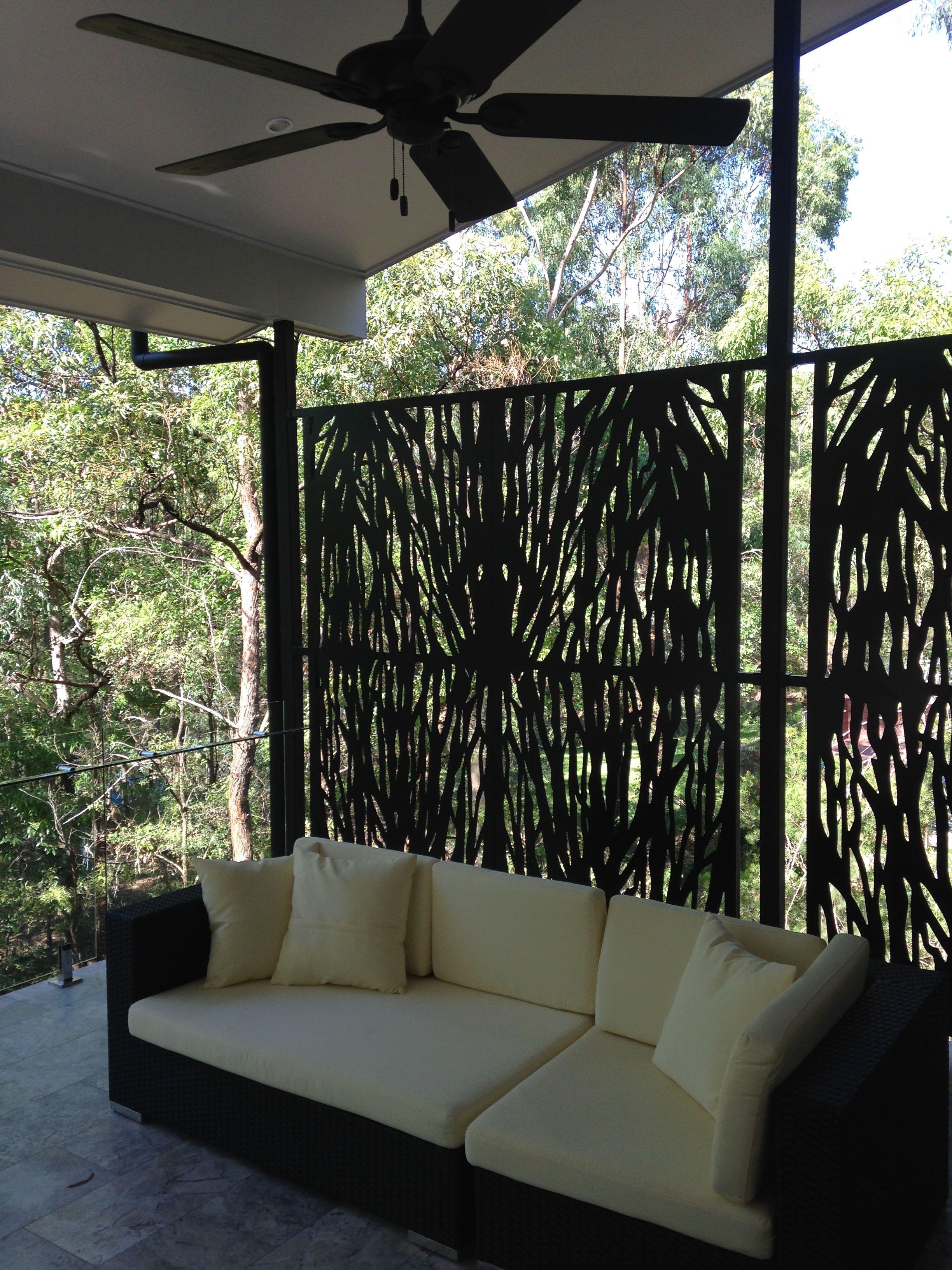 Metal Balcony Screens In 2019 Balcony Outdoor Sofa