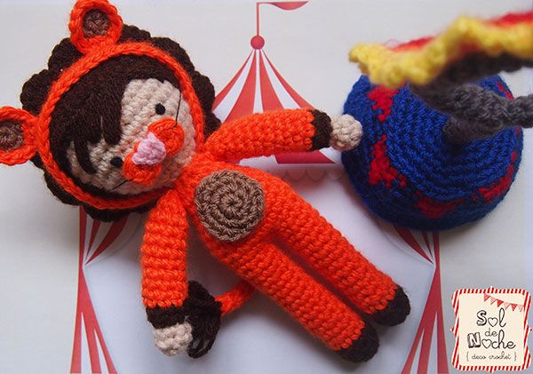 Vote for amigurumi circus design contest